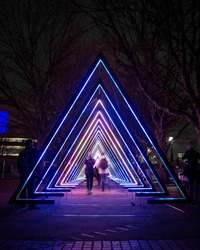 Lumiere Light Festival, London