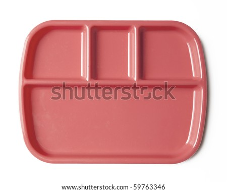 lunch tray/plate
