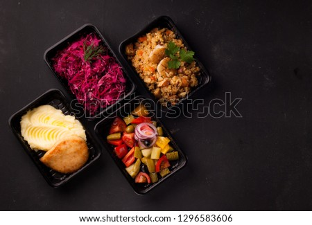 lunches in lunch boxes