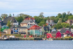 Lunenburg, Nova Scotia Waterfront