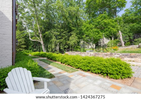 Lush Green Gardens on Estate #1424367275