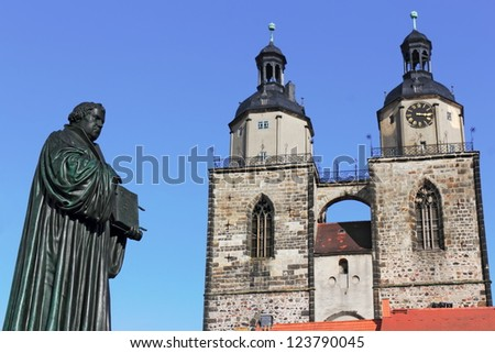 Luther and St. Mary's Church