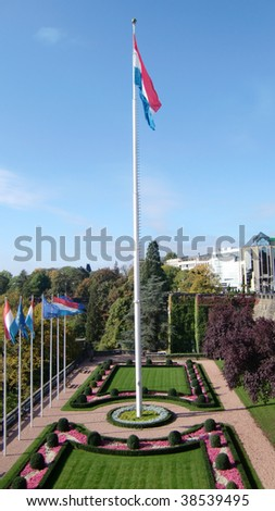Luxembourg City - National Flag