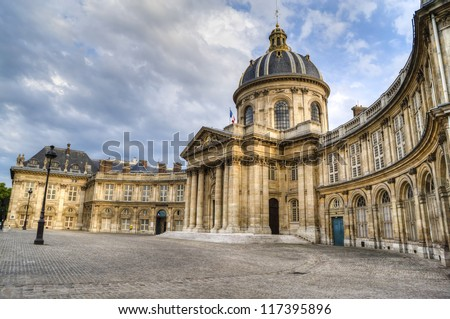 Luxembourg Palace, Senate Building in the Luxembourg Garden of Paris, France