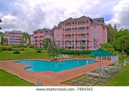 luxurious beachfront condominium
