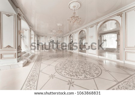 luxurious vintage interior with ...