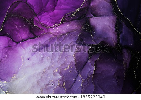 Luxury abstract fluid art painting background alcohol ink technique. Abstract background, wallpaper. Art Element. Card Background. Alcohol ink painting