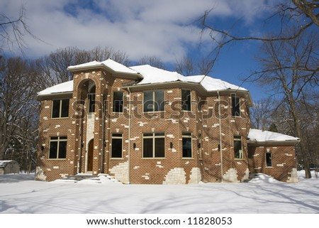 Luxury American House - new construction