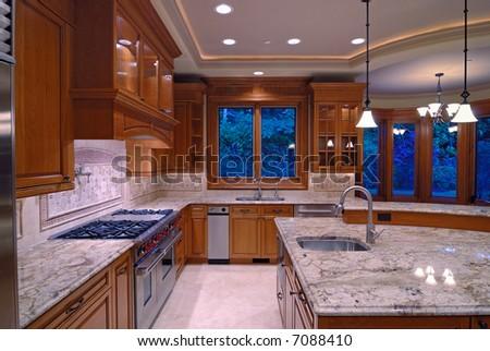 Luxury American Kitchen Series - Shutterstock ID 7088410