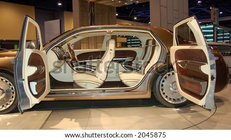 Luxury automobile interior