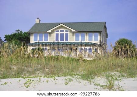 Luxury beach rental home