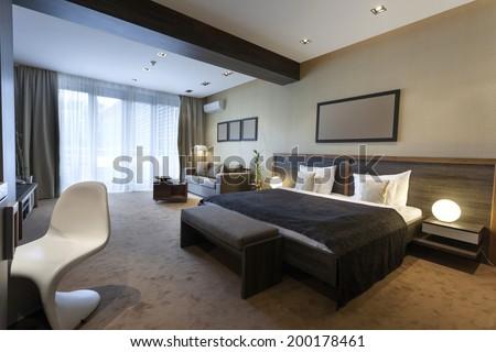 Luxury bedroom interior #200178461