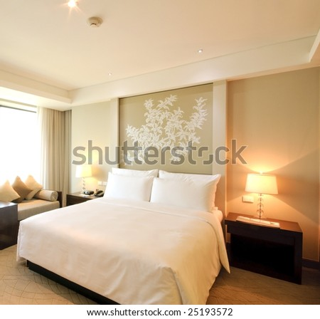 Luxury bedroom interiors