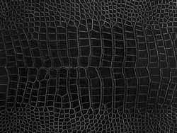 Luxury black leather closeup texture background for pattern design.