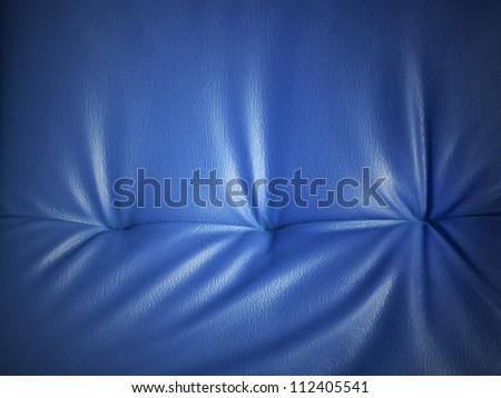 Luxury blue leather background