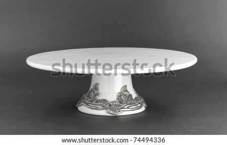 Luxury cake stand for beautiful and delicious cake