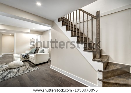 Luxury Canadian House Completely Renovated, Furnished and Staged with Basement, Deck, Backyard and Garage for Sale
