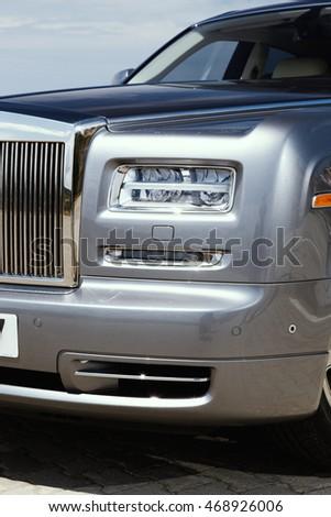 luxury car front headlight  #468926006