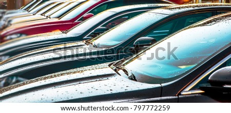 Free photos cars for sale stock lot row car dealer for Sun motor cars used inventory