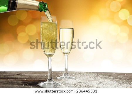 luxury champagne  #236445331