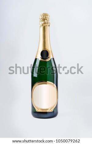 Luxury champagne bottle #1050079262