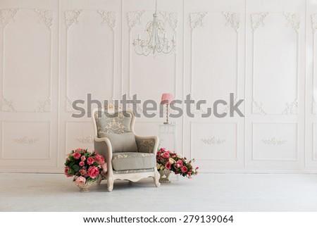 luxury clean bright white...