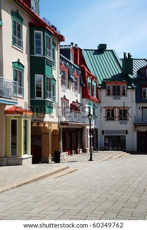 Luxury colored place at Mont-Tremblant