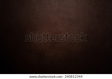 Luxury dark brown leather background