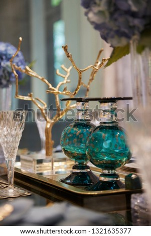 luxury dining decorations  #1321635377