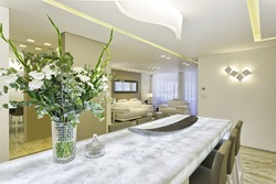 Luxury Dining Room in Modern Home