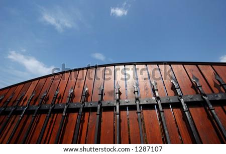 Luxury fence stock photo 1287107 shutterstock for Luxury fences