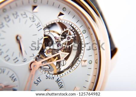 luxury gold watch swiss made