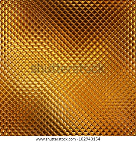 Luxury golden mosaic
