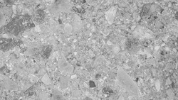 luxury grey marble with large terrazzo texture background (Natural pattern for backdrop or background).