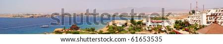 Luxury hotel in Naama Bay, Sharm al-Sheikh, Egypt