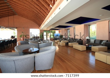 luxury hotel lobby reception area stock photo 7117399 shutterstock