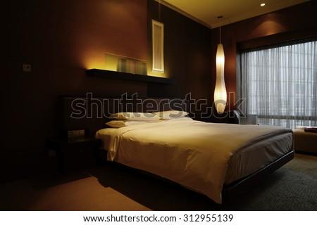 Luxury Hotel room Interior.