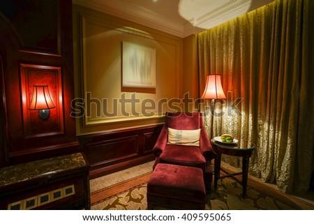 Luxury Hotel Room Interior Ez Canvas