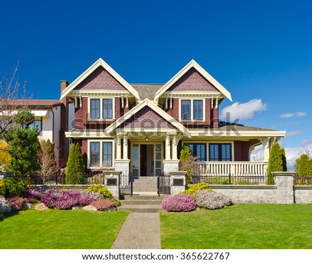 Luxury house in Vancouver, Canada. #365622767