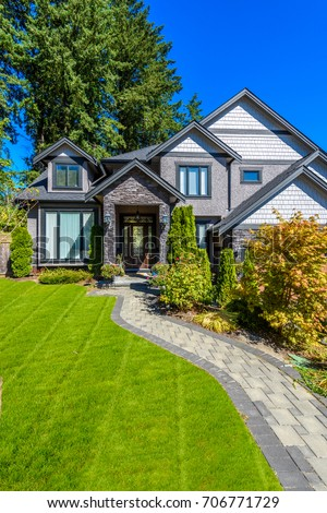 Luxury house in Vancouver, Canada. #706771729