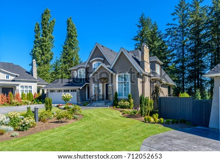Luxury house in Vancouver, Canada. #712052653