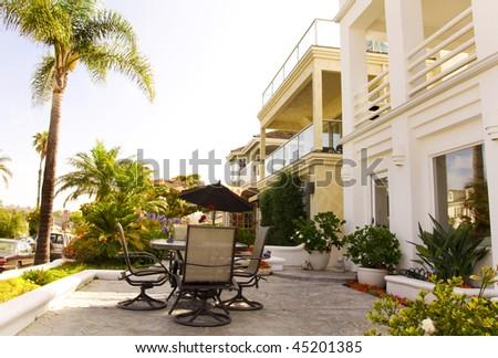 Luxury House Patio