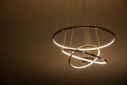 luxury led chandelier wall hanging