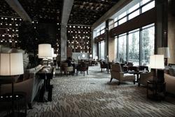 luxury lounge bar interior