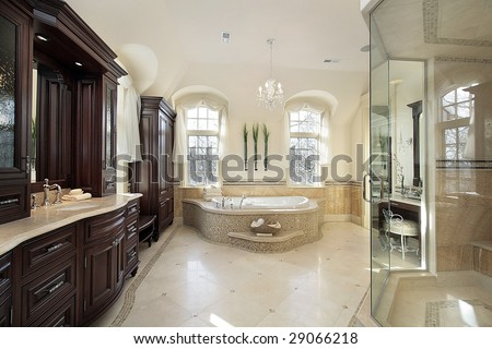 Luxury Master Bath Stock Photo 29066218 : Shutterstock