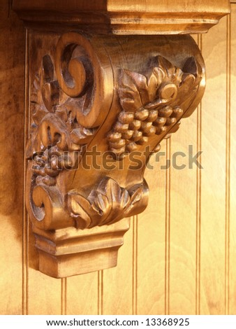 Luxury Model Home Ornate Scroll Counter support