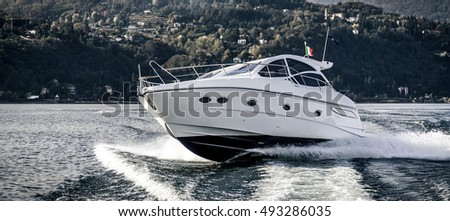 Luxury Motor boat #493286035