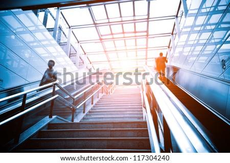 Luxury Office Buildings, Indoor Stairs