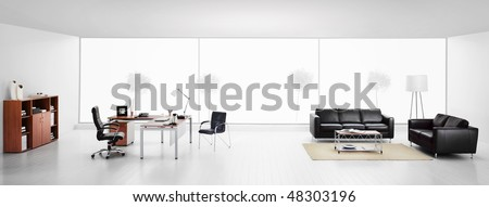 luxury office life - stock photo