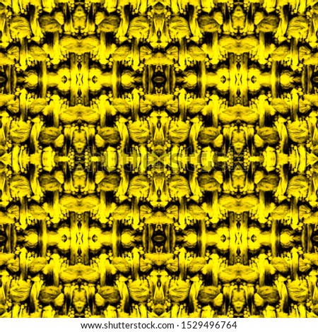 Luxury Pattern Wallpaper. Mexican Artisan Design. Luxurious Wallpapers.  Mexican Artisan Design. Black Gold Seamless Watercolor Fabric Print. Pattern Gold Seamless.